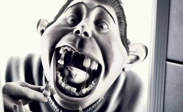 تاثیر نوشابه انرژی زا بر دندان