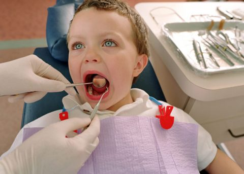کاهش اضطراب در دندانپزشکی کودکان